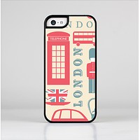 The Vector London Time Red Skin-Sert Case for the Apple iPhone 5c