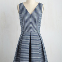 Backyard Blast Dress in Navy