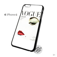 Vogue 1950 Phone Case For Apple,  iPhone 4, 4S, 5, 5S, 5C, 6, 6 +, iPod, 4 / 5, iPad 3 / 4 / 5, Samsung, Galaxy, S3, S4, S5, S6, Note, HTC, HTC One, HTC One X, BlackBerry, Z10