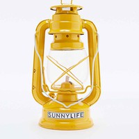 Sunnylife Storm Lantern Oil Lamp in Yellow - Urban Outfitters