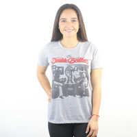DOE The Doobie Brothers Cover Women's Grey T-shirt