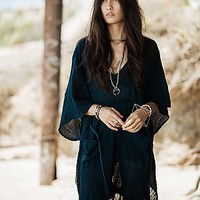 Free People Womens Tied to Love Tunic