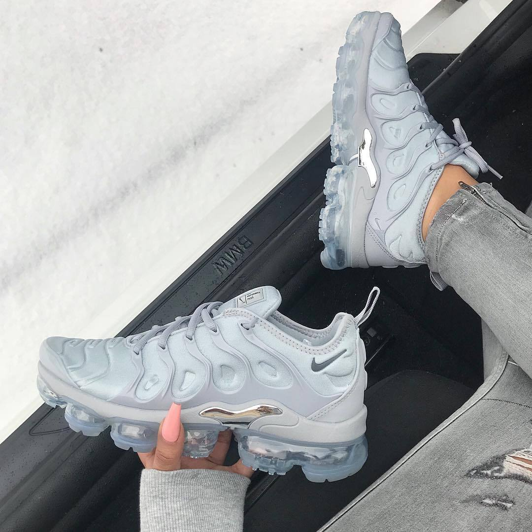 """Image of NIKE AIR VAPORMAX PLUS """"COOL GREY"""" RELEASE DATE"""