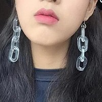 Acrylic Chain Earrings