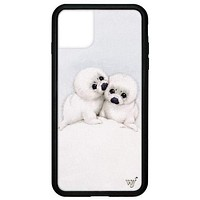 Wildflower - Baby Seals iPhone 11 Pro Max Phone Case