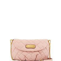 Karlie Quilted Leather Crossbody Bag, Dusty Bloom - MARC by Marc Jacobs