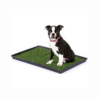 Prevue Hendryx Light Weight Medium Size Dog Breeds Tinkle Turf Training Tool - Pet Waste Disposal System