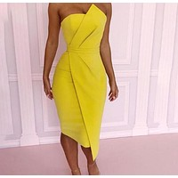 Straight to the Point Dress