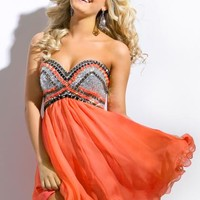 Party Time Gown 6313 Prom Dress - PromDressShop.com