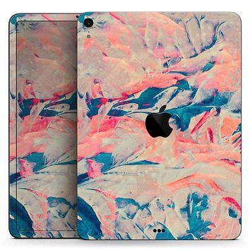 "Liquid Abstract Paint Remix V12 - Full Body Skin Decal for the Apple iPad Pro 12.9"", 11"", 10.5"", 9.7"", Air or Mini (All Models Available)"