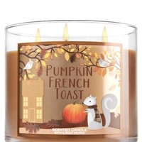 3-Wick Candle Pumpkin French Toast