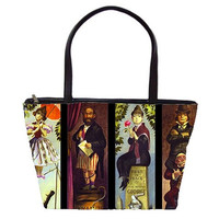 The Haunted Mansion Double Sided Tote Bag