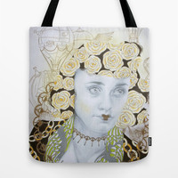 Dreams of Gold Tote Bag by Allise Noble