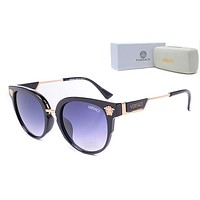 Versace Trending Women Stylish Summer Sun Shades Eyeglasses Glasses Sunglasses Black I/A