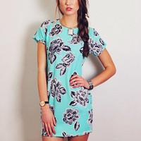 Turquoise Holiday Dress - sold out