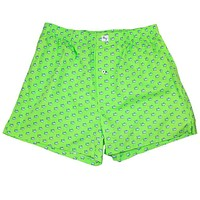 Skipjack Boxers in Summer Green by Southern Tide