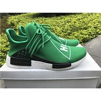 adidas NMD Human race green  Basketball Shoes 36-47
