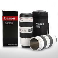 Lens Cup Special Lid Canon Camera Lens Coffee  Cup Mug With Carry Pouch