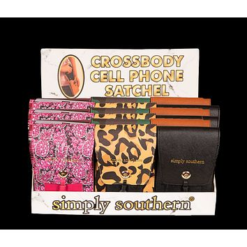 Crossbody Cell Phone Satchel - F19 - Simply Southern
