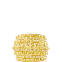 Africa Gold 750° Ring with Diamonds