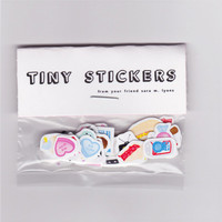 CUTE & SLEAZY tiny stickers