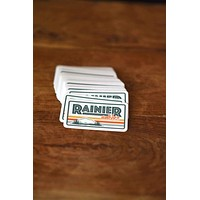 Rainier Watcher Badge Sticker
