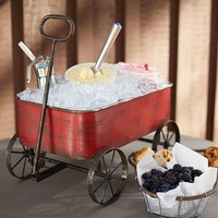 RED WAGON PARTY BUCKET