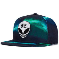 Japanese Alien Snapback Hat