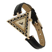 Triangle Face Watch - Jewellery  - Accessories