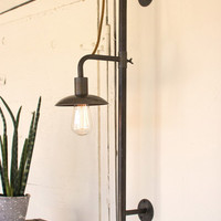 Vertical Sliding Wall Lamp