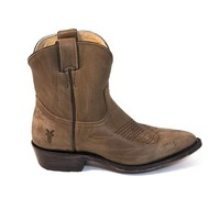 Frye Boot Billy Short - Charcoal Western Boot