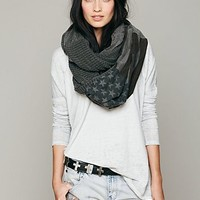 Free People American Flag Infinity Scarf