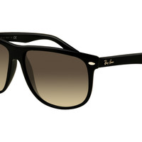 Ray Ban RB4147 Sunglasses Black Frame Crystal Brown Polarized Le