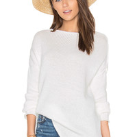J.O.A. Sweater in White | REVOLVE