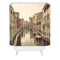 Happee Monkee Venice Waterways Shower Curtain
