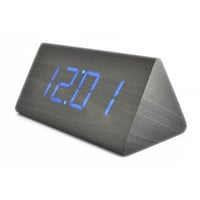 LED Wood Desktop Cool Digital Alarm Clock