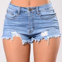 Pismo Beach Shorts - Medium Wash