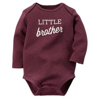 Carter's ''Little Brother'' Bodysuit - Baby Boy, Size: