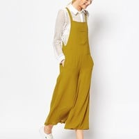 ASOS Pinafore Jumpsuit with Culotte Leg