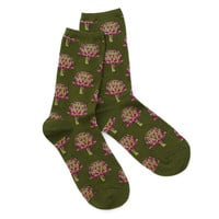 Women's Artichoke Socks