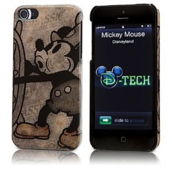 Disney D-Tech iPhone 5 Case Cover Mickey Mouse Classics Steamboat Willie Theme Parks Exclusive & Limited Availability