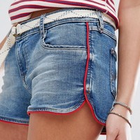 Hilfiger Denim Short with Contrast Piping at asos.com
