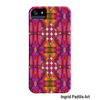 Colorful patterned iPhone 5 Case, Subtle Beauty, Funky, Abstract Art, iPhone cases, by Ingrid Padilla, iPhone 5S case