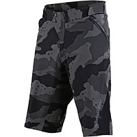 Troy Lee Designs Ruckus w/Liner Men's Off-Road BMX Cycling Shorts Camo Gray 36