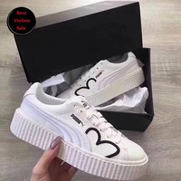 Best Online Sale New Fenty PUMA Rihanna CLF Creeper Shoes Women Casual Shoes Sneakers