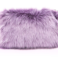 Wild Things Clutch Lavender
