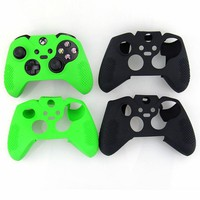 Durable Flexible Silicone Soft Guards Skin Protective Case Cover For Xbox One Controller Xbox one Elite Controller Sweat Free
