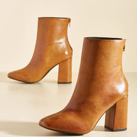 Minute by Minimalist Boot in Chestnut | Mod Retro Vintage Boots | ModCloth.com