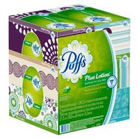 Puffs Plus Lotion Facial Tissues 6 Pack