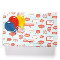 B-Day Wrapping Paper